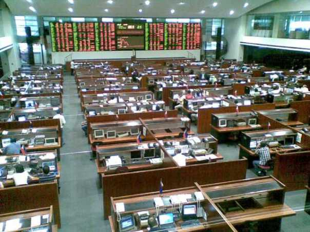 The Makati Trading Floor of the Philippine Stock Exchange